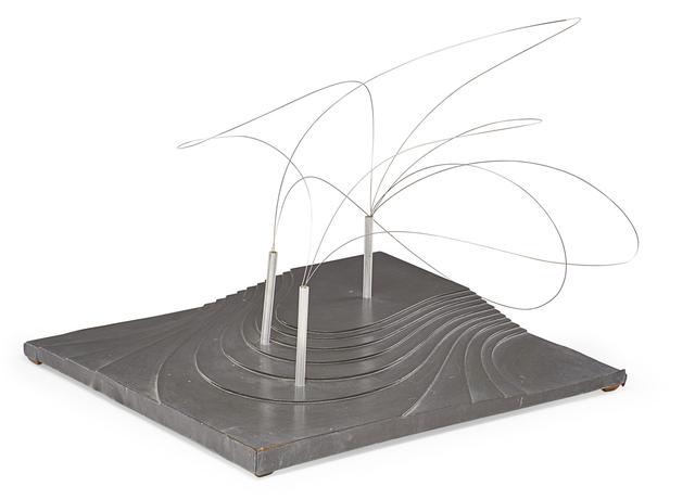 Aiko Miyawaki, 'Maquette for Utsurohi sculpture for MA-Espace/Temps au Japon exhibition for Festival d'Automne at the Musée des Arts Décoratifs, Paris', 1978, Rago