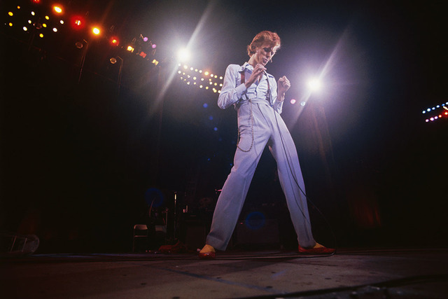 , 'David Bowie on stage,' ca. 1974, Ransom Art