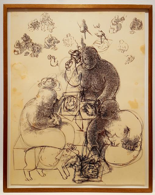 , 'New Plans,' 1985, Brooke Alexander, Inc.