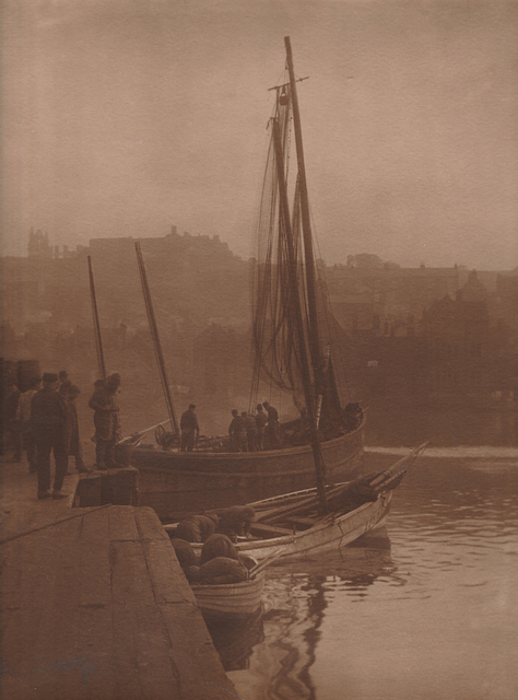 Frank Meadow Sutcliffe, 'Fishing Boat, Whitby, England', ca. 1890, PDNB Gallery