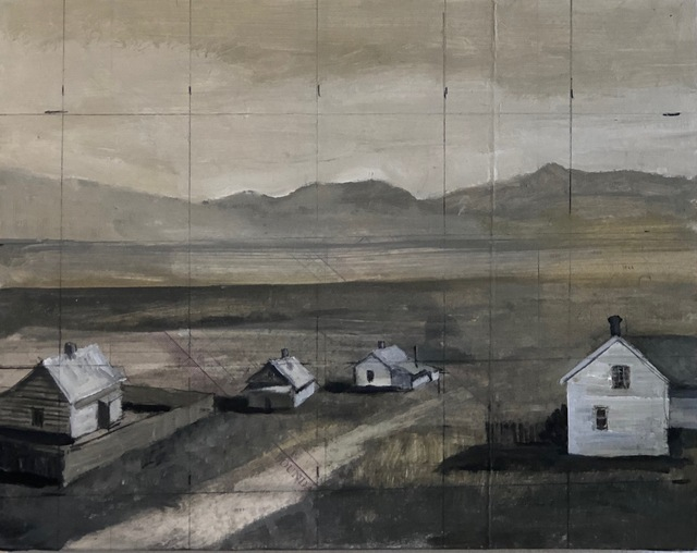 Tom Judd, 'The Valley', 2018, Painting, Oil on panel, Modern West
