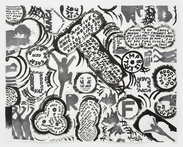 Carla Filipe, 'The artists is also a curator - Rudolfo, o resistente', 2015, Drawing, Collage or other Work on Paper, Indian ink on paper, Múrias Centeno