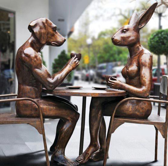 , 'Coffee Drinkers – David Jones, Adelaide,' , Gillie and Marc Art Gallery