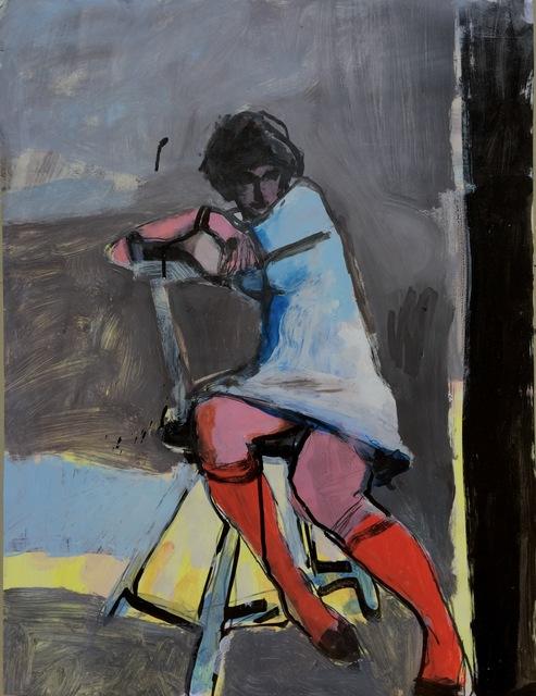 , 'Merav: Red Stockings,' 1998, Andra Norris Gallery
