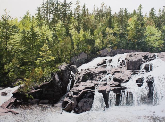 , 'La Chute (Parc Régional des Chutes Monte-à-Peine et des Dalles, Québec),' 2019, Galerie D'Este