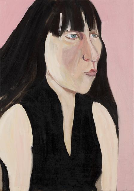 Chantal Joffe, 'Ishbel on Pink', 2018, Victoria Miro