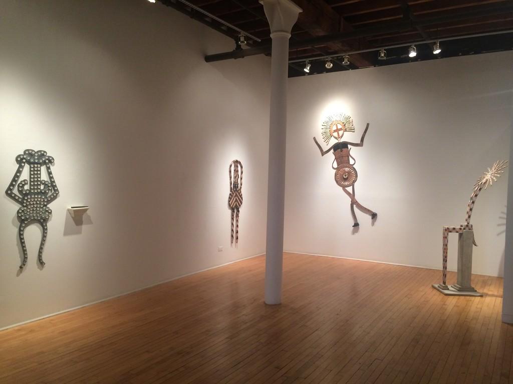 """The Magic of Margaret Wharton"" - solo exhibition at Jean Albano Gallery"
