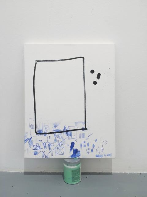 , 'Micropainting #7,' 2015, Josée Bienvenu
