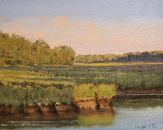 Sergio Roffo, 'Approaching Sunset on the Marsh', 2019, The Guild of Boston Artists