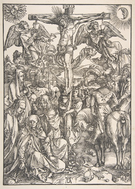 , 'The Crucifixion, from The Large Passion,' 1471-1528, Seattle Art Museum