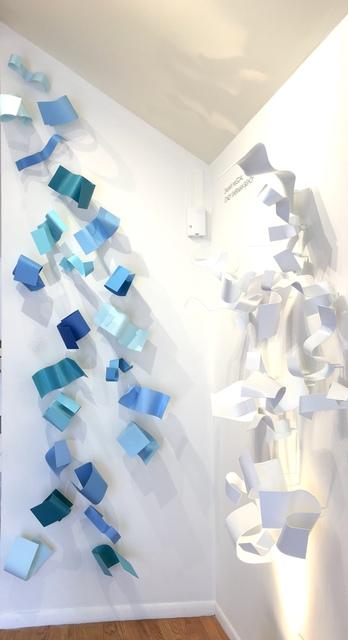 , 'Carib (blues), 23 elements,' 2018, AMP: Art Market Provincetown