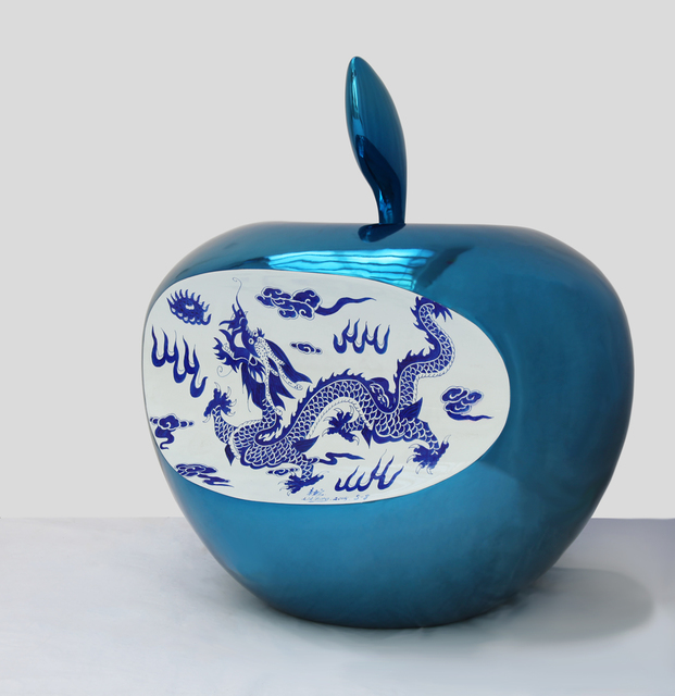 , 'APPLE - CHINA (blue),' 2015, ART LABOR Gallery