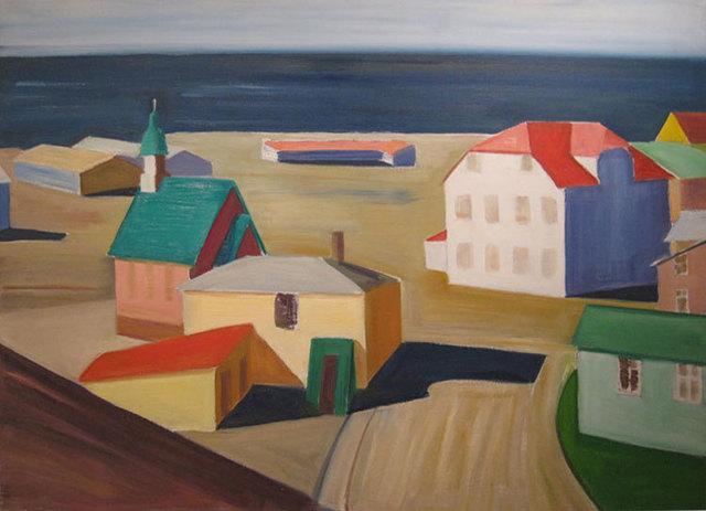 , 'Icelandic Village,' 1991, Reynolds Gallery