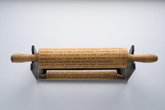 , 'Food Borne - Escherichia Coli,' 2019, Dab Art