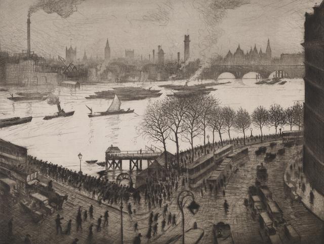 , 'Blackfriars,' 1926/27, Osborne Samuel