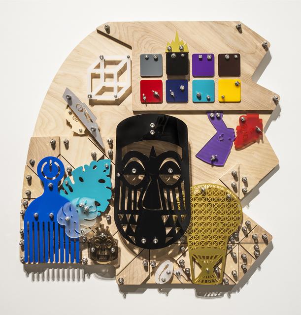 Damien Davis, 'Luscher (Blackamoors Collage #223)', 2019, LatchKey Gallery