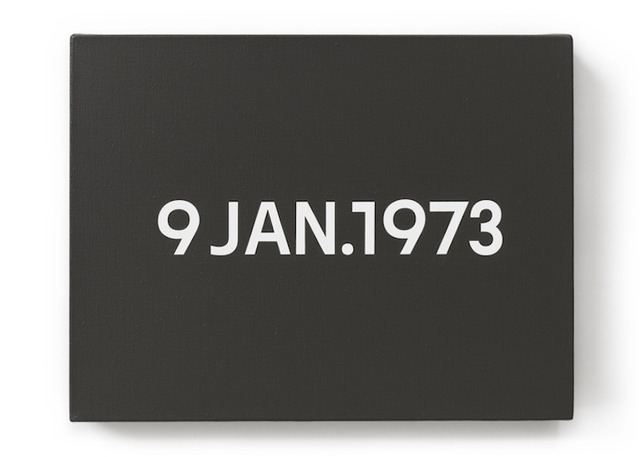 , '9 JAN 1973 / Today Series,' 1973, Simoens Gallery