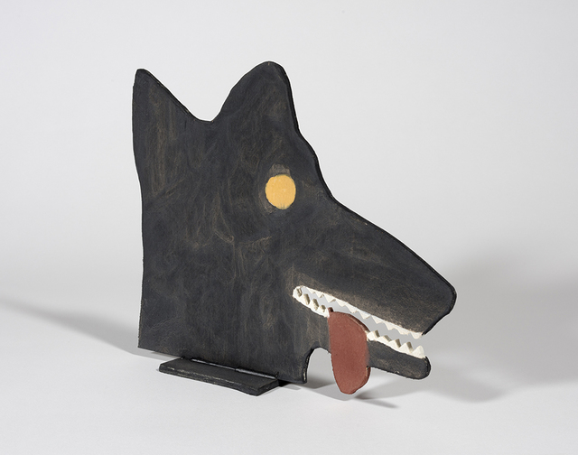 Stephen W. Evans, 'Head of a Wolf', 2018, Steve Turner