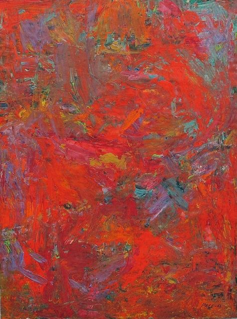, 'Untitled Abstraction,' 1962, F.L. Braswell Fine Art