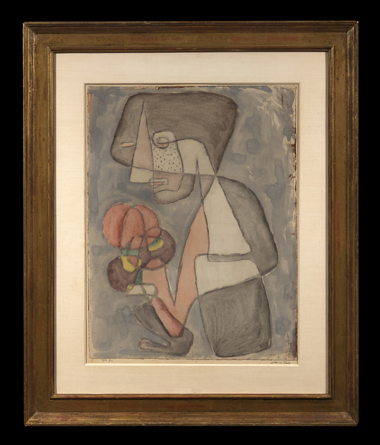Paul Klee, 'Dame mit Tomate', 1930, Trinity House Paintings