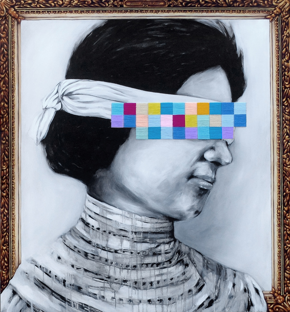 , 'Impetus No Ego (Helen Keller),' 2015, Art Front Gallery - Singapore