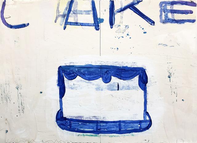, 'Cake (Blue on Creme and White),' 2017, Madelyn Jordon Fine Art