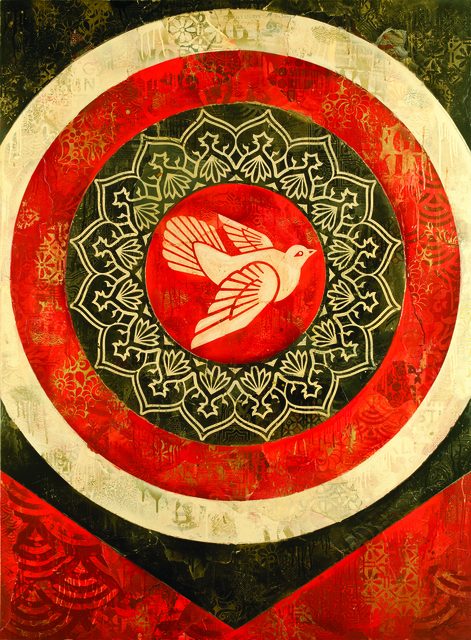 , 'Peace Dove (Red),' 2012, Hong Kong Contemporary Art