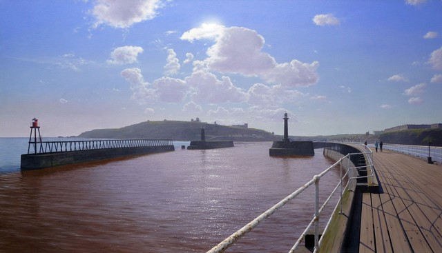 , 'View of Whitby,' , Plus One Gallery