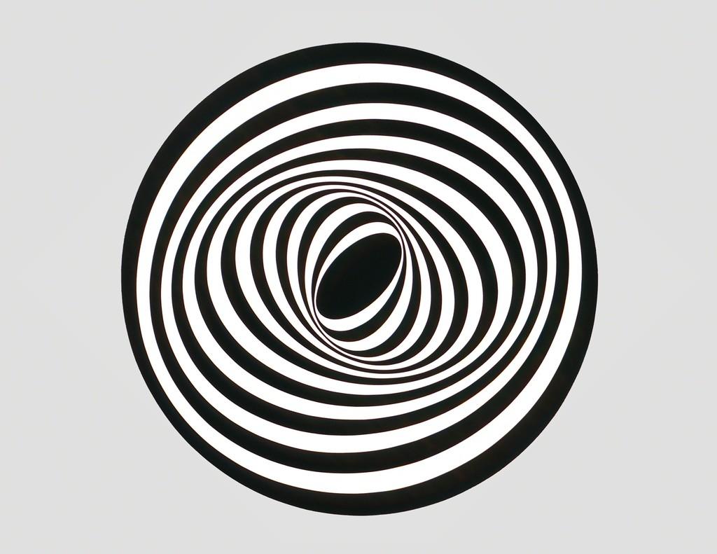 Elliptical Kinetic Painting