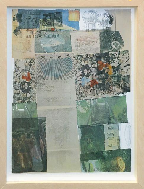 Robert Rauschenberg, 'DEPOSIT', 1975, Print, LITHOGRAPH, Gallery Art