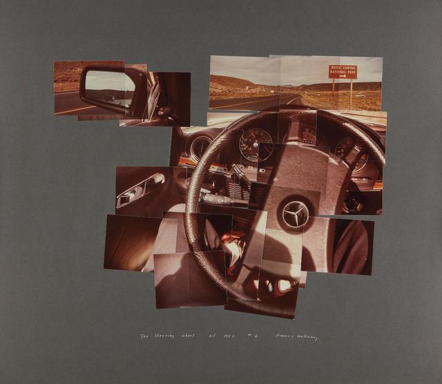 David Hockney, 'The Steering Wheel, Oct.', 1982, Phillips