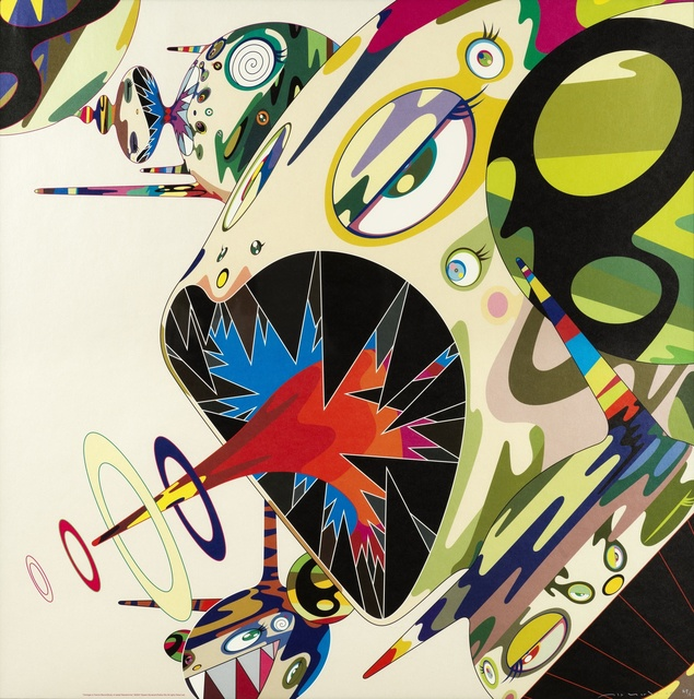 Takashi Murakami, 'Homage to Francis Bacon (Study of George Dyer); Homage to Francis Bacon (Study of Isabel Rawsthorne)', 2003, Forum Auctions