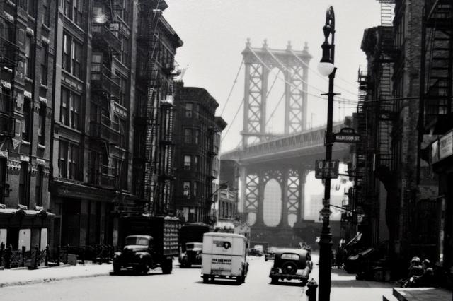 Todd Webb, 'Madison Street at Pike Street, New York', 1946, Scheinbaum & Russek Ltd.