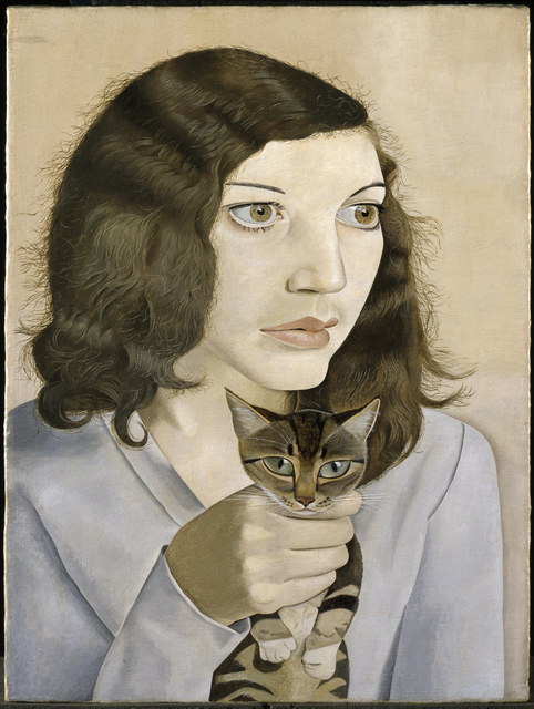, 'Girl with a Kitten ,' 1947, J. Paul Getty Museum