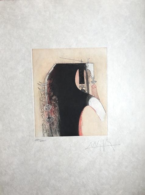 Wifredo Lam, 'Vingtième Parallèle Suite (20th Parallel Series)', 1966, Print, Etching on Japanese paper, Discoveries in Art