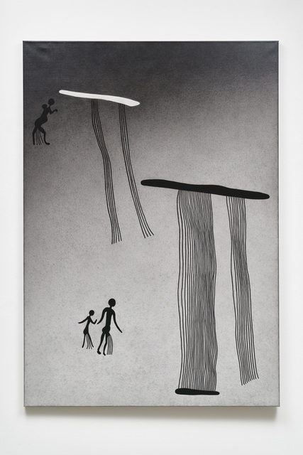 , 'Tikatoutine: Der große Regen (Südafrika),' 2005, Galerie Judith Andreae