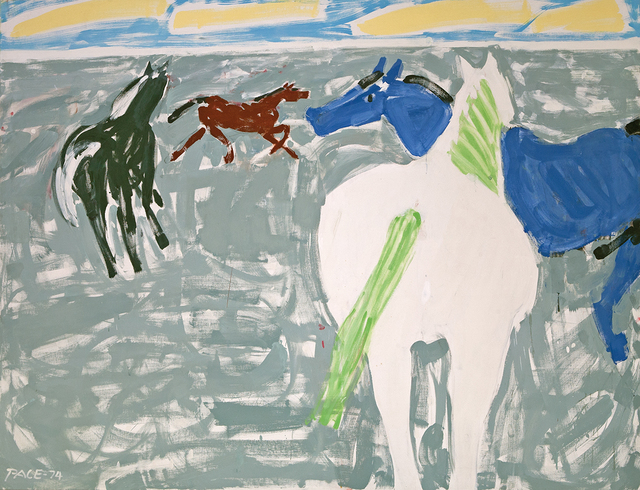 , 'Four Horses,' 1974, Dowling Walsh