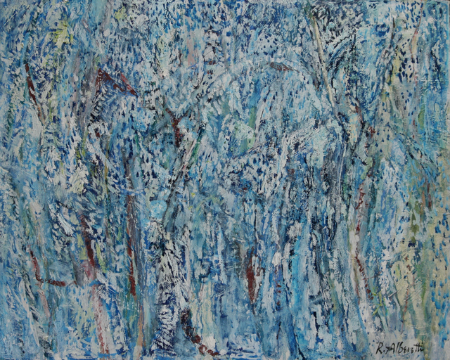 , 'Blue Thicket,' 2017, Blue Mountain Gallery