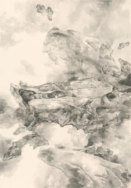 , 'Mending the Sky (i) 天漏谁能补(I),' 2015, Ink Studio