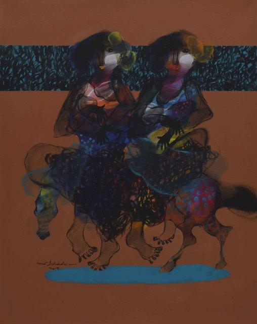 , 'Women on Horse 1 / 1 نساء على حصان,' 2018, al markhiya gallery