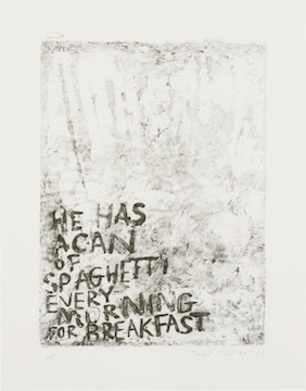 , 'A Can of Spaghetti,' 2014, Jealous Gallery