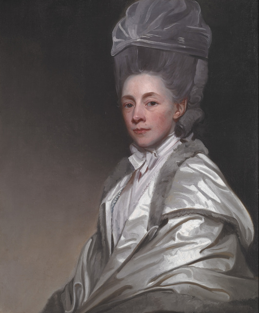 George Romney, 'Portrait of Jane Dawkes Robinson', ca. 1778, Indianapolis Museum of Art at Newfields