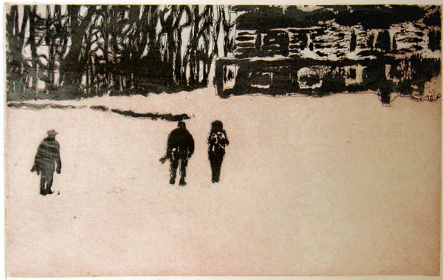 Peter Doig, 'From Pond Life (Pink) From Ten Etchings', 1996, Galerie Maximillian
