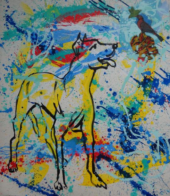 , 'El perro de Pollock,' 2015, Fontanar Art Editions