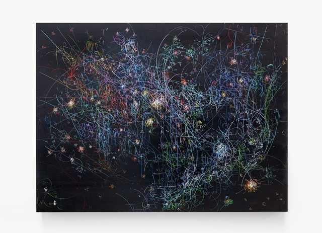 , 'Blow Up 284 - the long goodbye - subatomic decay patterns with the Orion Nebula,' 2015, SPONDER GALLERY
