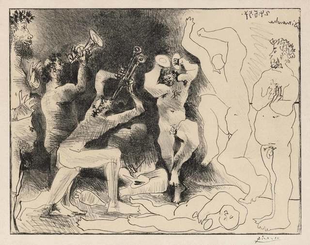 Pablo Picasso, 'La Danse Des Faunes (B. 830)', 1957, Doyle