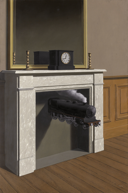 , 'Time Transfixed (La Durée poignardée),' 1938, Art Institute of Chicago