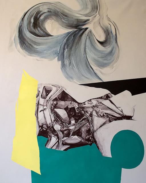 , 'Crash ,' 2017, Wallspace
