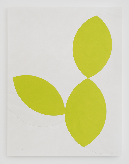 Sarah Crowner, 'Untitled (Limes)', 2015, Galerie Nordenhake