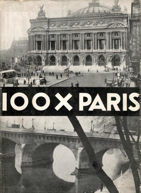 , '100 x Paris,' 1929, Jeu de Paume